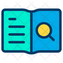 Search Find Notebook Icon