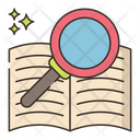 Search Of Knowledge Icon