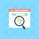 Advance Search Seo Icon