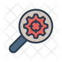 Optimization Search Magnifier Icon
