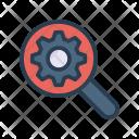 Optimization Search Setting Icon