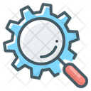 Seo Magnifier Magnifying Icon