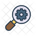 Search Setting Magnifier Icon