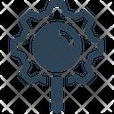 Seo Gear Magnifier Icon