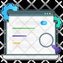 Seo Search Seo Exploration Optimization Research Icon