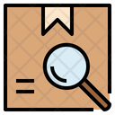 Tracking Parcel Search Icon