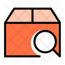 Search Package Item Shipping Icon