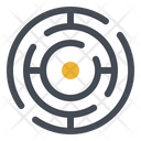 Search Pain Finding Pain Labyrinth Icon