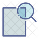 Magnifier Find Inspect Icon