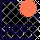 Search Pdf File Search File Search Document Icon