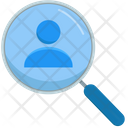 Worker Man Zoom Icon