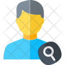 Search Person Audit Search Icon