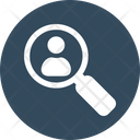 Search Employee Magnifier Profile Icon