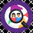 Search Population Search Persons Search Team Icon