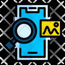 Search Picture In Mobile Search Picture Icon