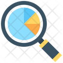 Search Pie Chart Icon