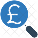 Business Financial Magnifier Icon