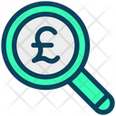 Search Pound Pound Find Icon
