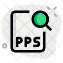 Search Pps File Icon