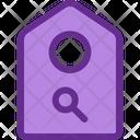 Search Price Tag Label Icon