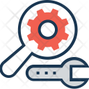 Search Process Spanner Icon