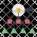 Search Process Marketing Icon