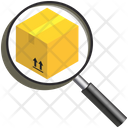 Logistics Delivery Search Icon