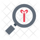 Search Gift Shopping Icon