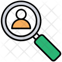 Search Profile Person Icon