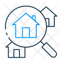 Search Property Rent House Rent Signboard Icon