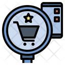 Search Quality Shopping Icon