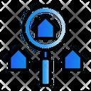 Search Real Estate Investation Icon