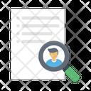 Search Recruitment Hiring Icon