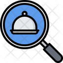 Search Cloche Food Icon