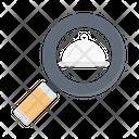 Search Restaurant Find Icon