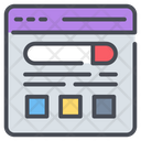 Search Result Website Technology Icon