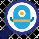 Search Robot Mini Icon
