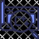 Script Coding Search Icon