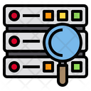 Server Data Work Icon