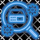 Search Server Setting Server Configur Config Icon
