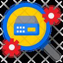 Search Server Setting Icon