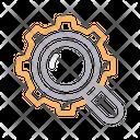 Search Setting Gear Icon