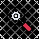 Setting Search Development Icon