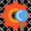 Service Gear Data Icon