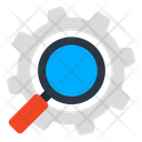 Search Setting Search Configuration Search Management Icon