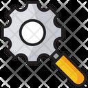 Configuration Search Settings Preferences Icon