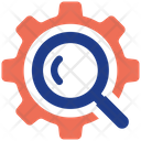 Search Settings Leader Management Icon