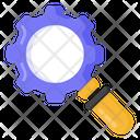 Seo Search Settings Search Configuration Icon