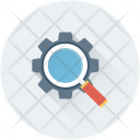 Search Settings Magnifier Icon