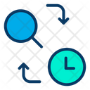Search Time Searching Time Search Time Management Icon